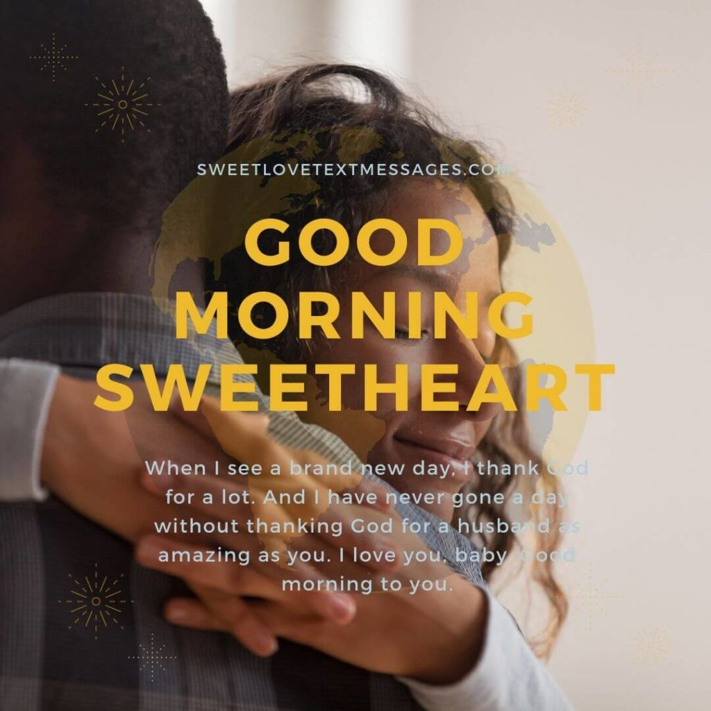 Good Morning I Love You Quotes For My Husband