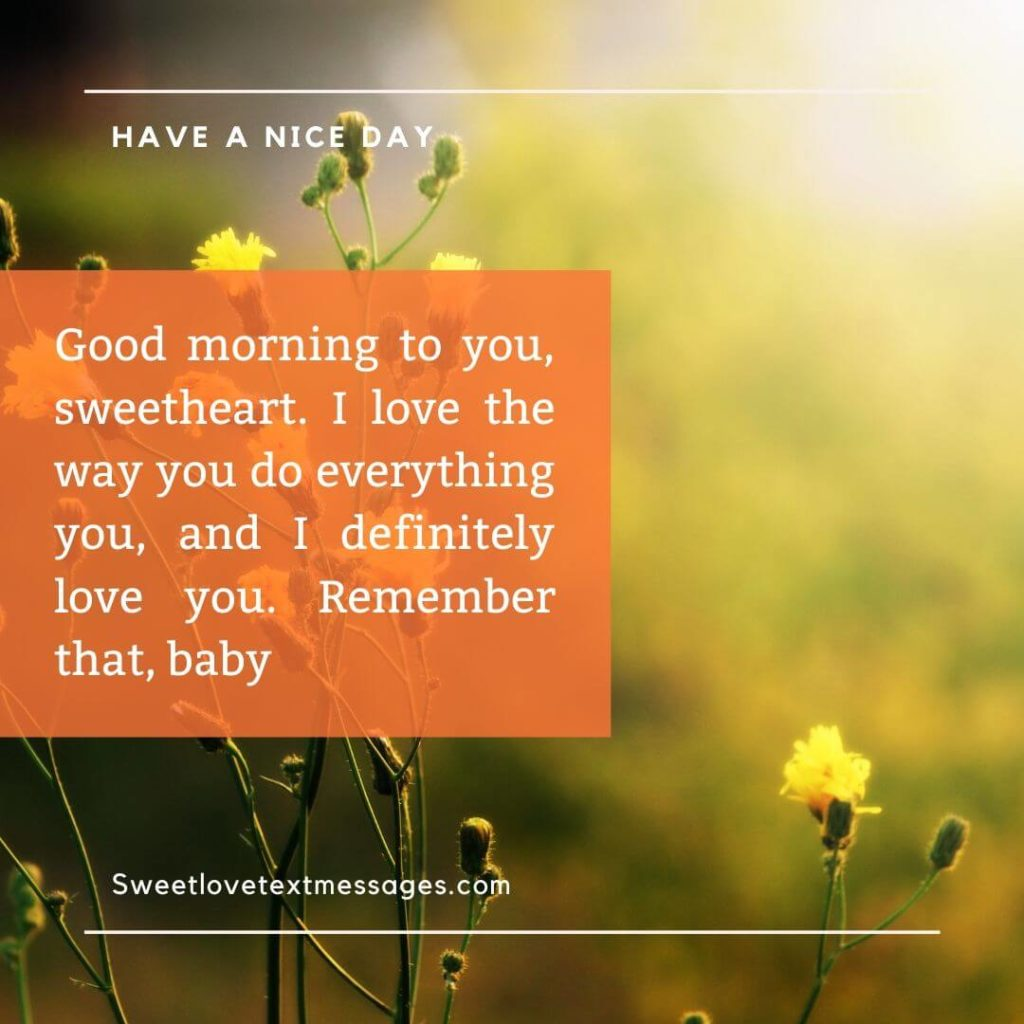 Good Morning I Love You Quotes For boyfriend
