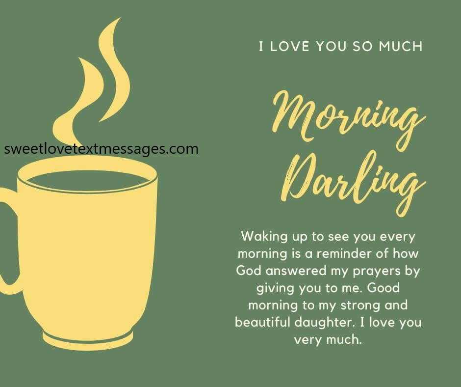 I Love You Good Morning Messages