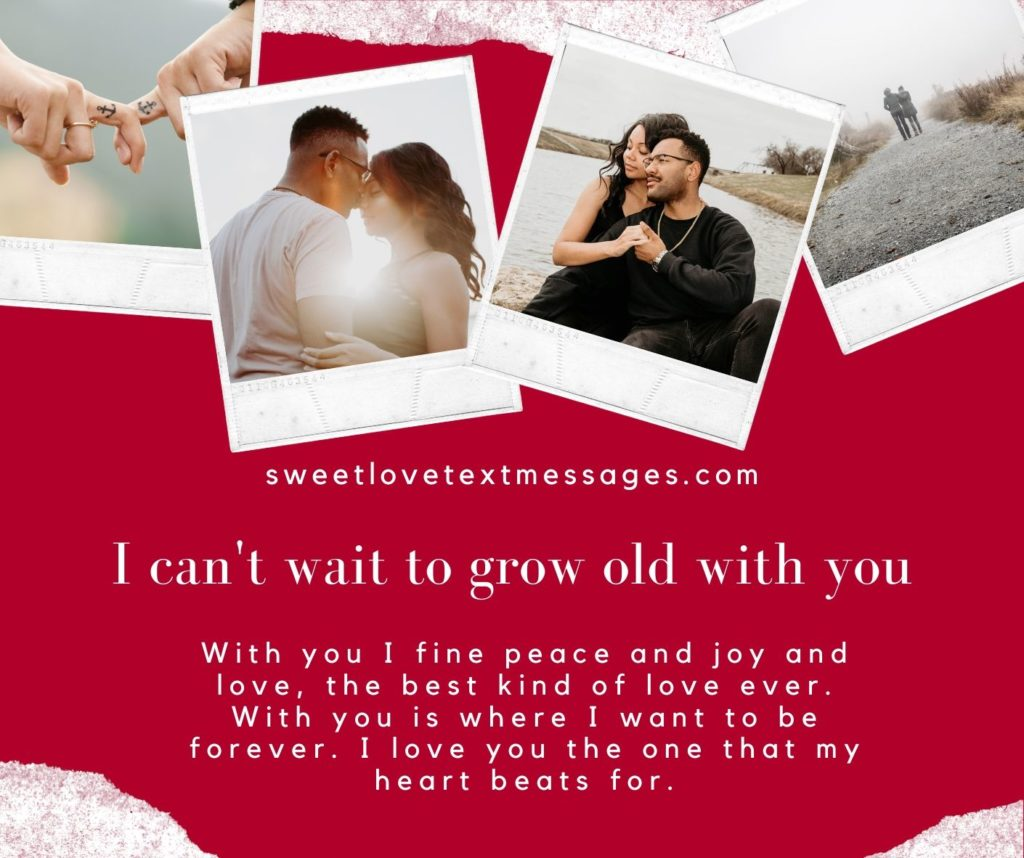I Can't Wait To Grow Old With You Quotes