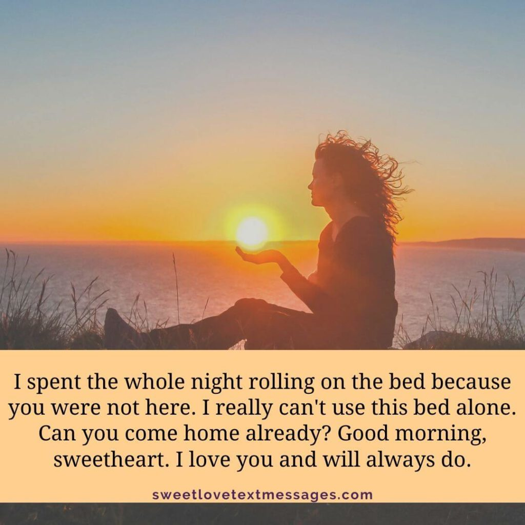 Funny Good Morning I Love You So Much Quotes For Her