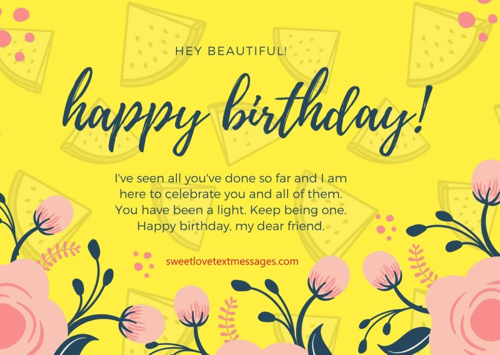 happy birthday paragraph for best friend girl