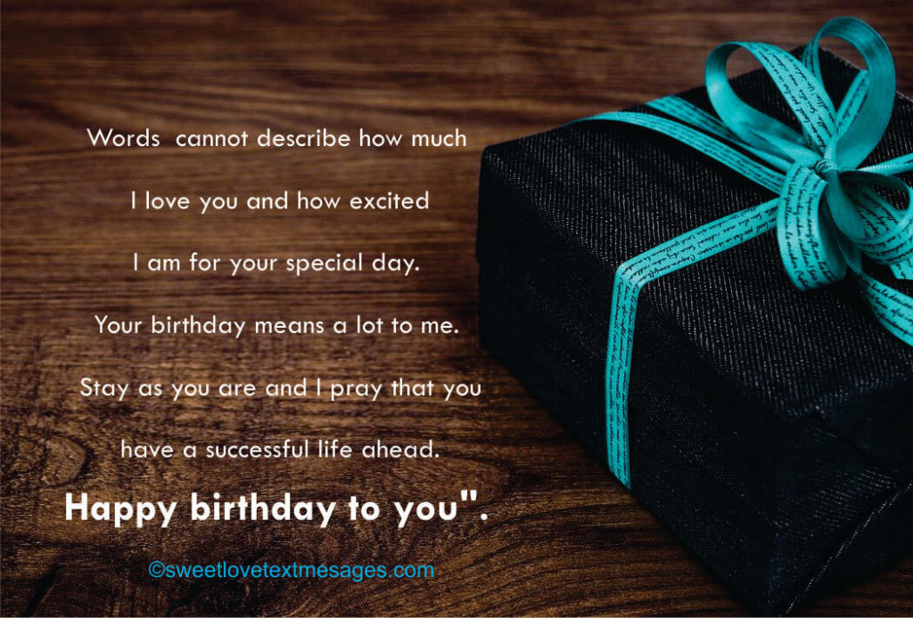 happy birthday quotes to my lover