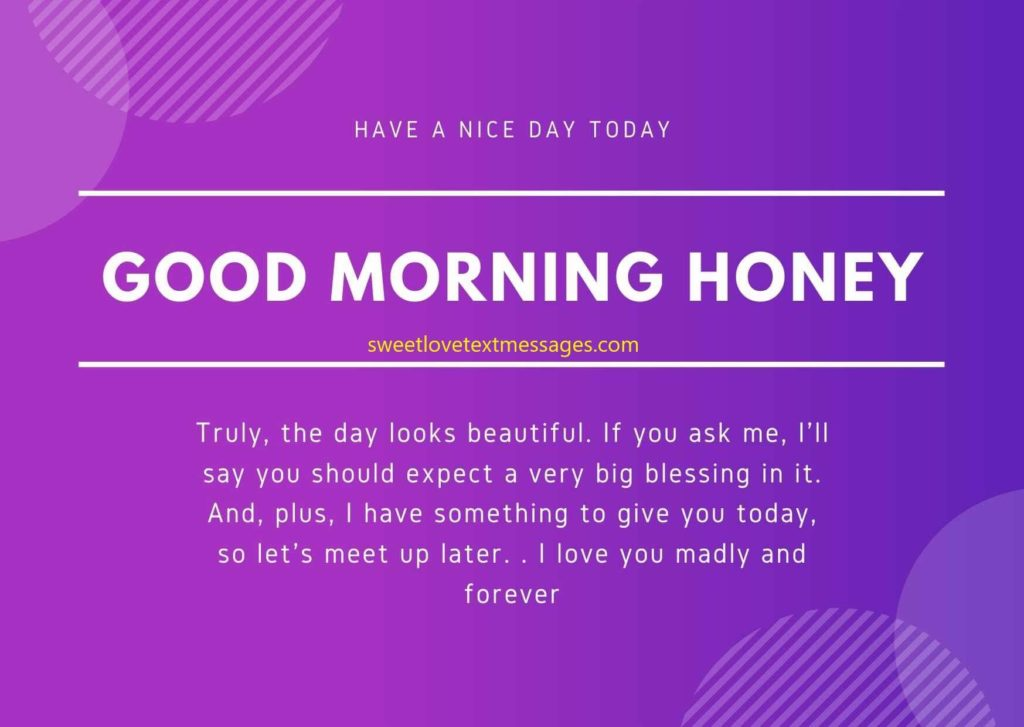 i love you good morning messages for girlfriend