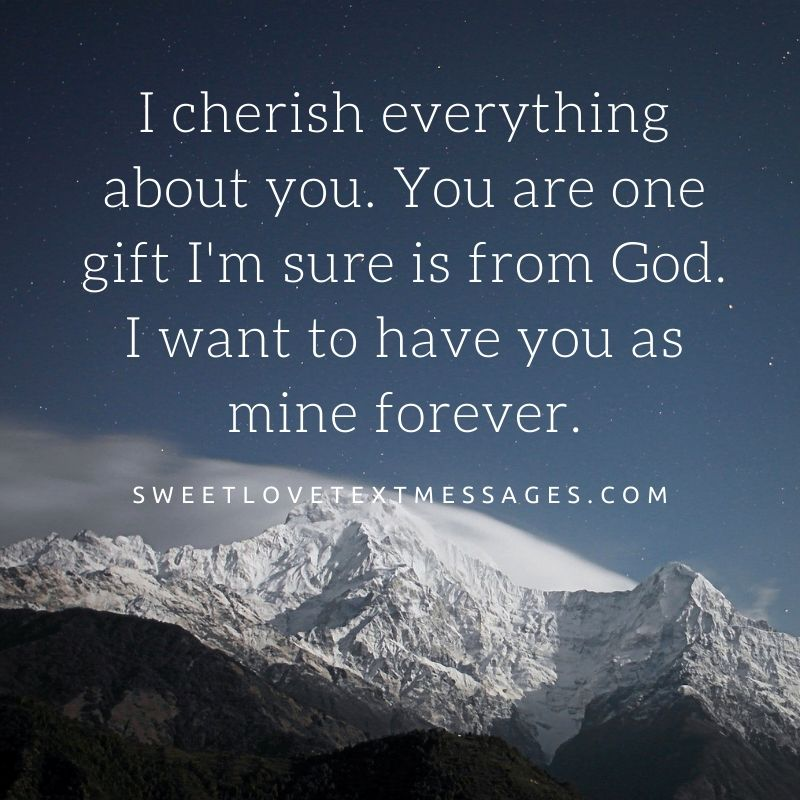 I want you in my life forever quotes and messages