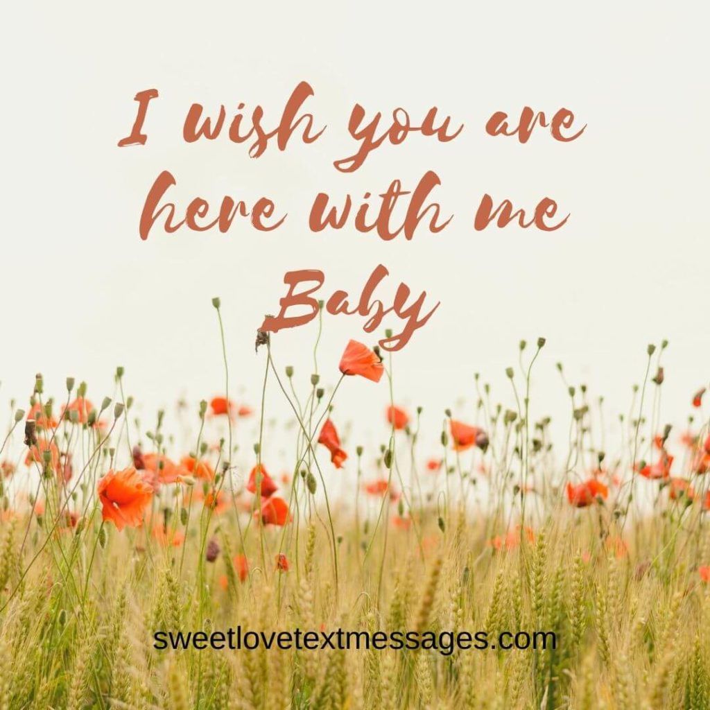 wish you were here quotes for him and her