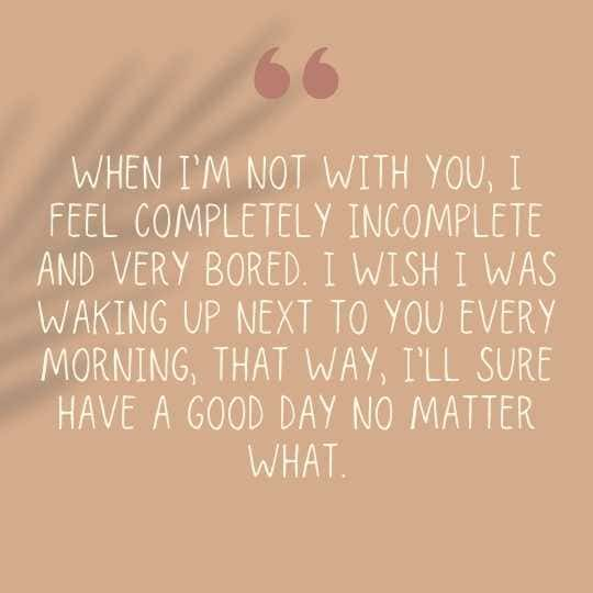 Wish you were lying next to me quotes